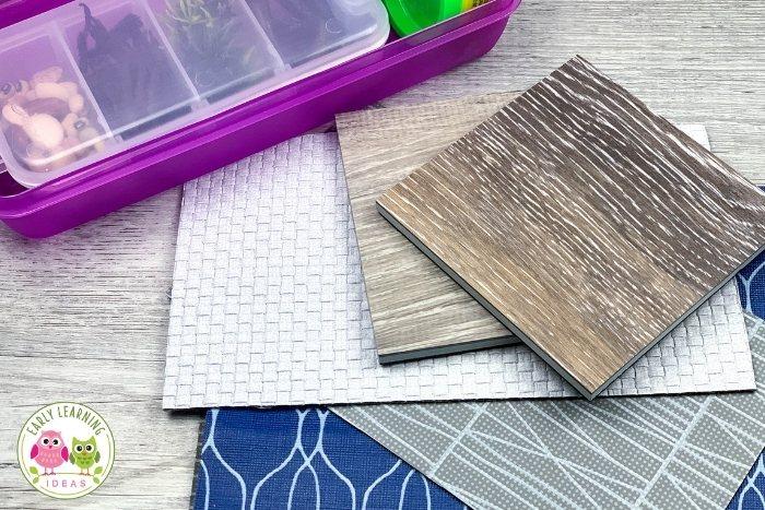 mats for playdough kits
