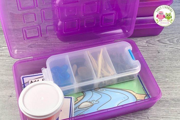 a playdough kit