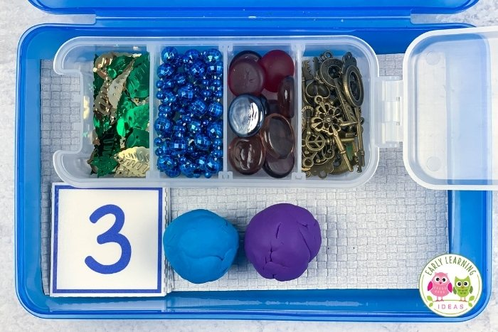 playdough kit sample