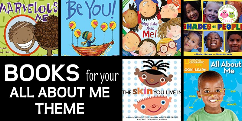 Here are the best all about me books to read aloud during the beginning of the year, back to school, or during your all about me theme unit or lesson plans. These fun titles are great to include in your class library or as all about me activities for preschool, pre-k, or kindergarten. Your preschoolers will love these books ideas....plus some DIY class books are included as well.