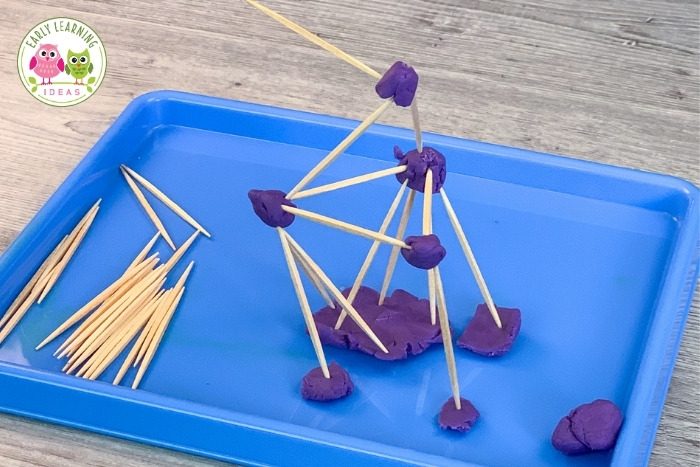 how to build a tower with toothpicks