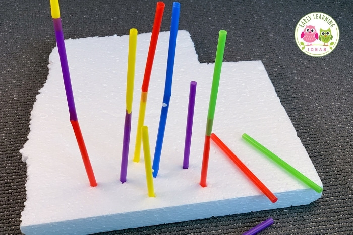 how to build a tower with straws