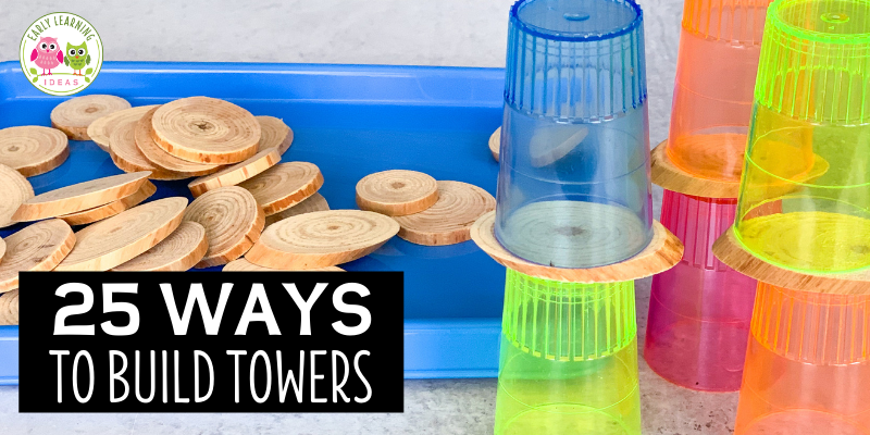 Find over 25 ways to build towers without blocks. From toothpicks to recycling bin materials, your little engineers will love these ideas. Kids can learn about engineering and architecture as they experiment with new materials to create towers. Find ideas for fun materials for toothpick towers, straw towers, towers from recycling materials. From simple towers to more complex ones that hold weight...These fun STEM ideas are perfect for kids in preschool, pre-k, and kindergarten.