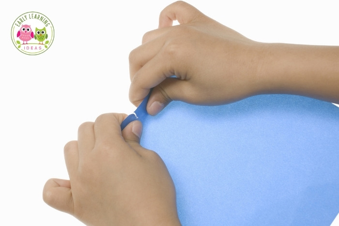 tearing paper benefits for kids