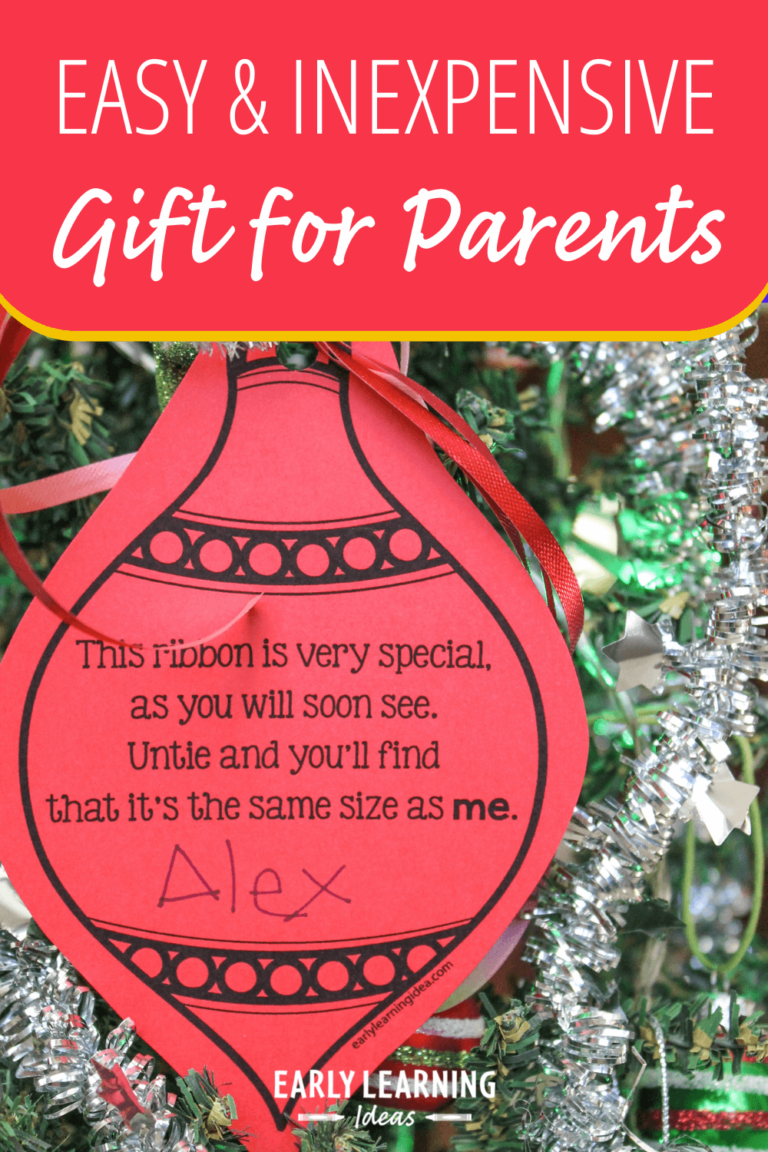 How to Make an Inexpensive and Easy Gift Parents will Actually Love [Free Printable]