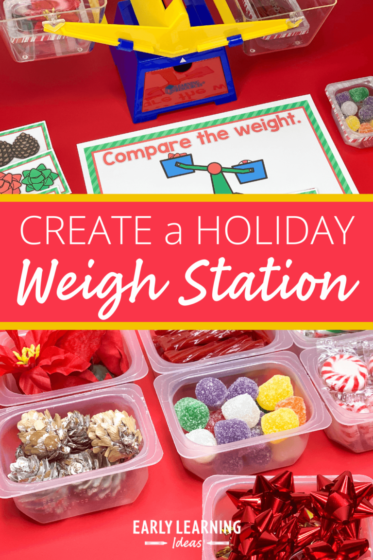 A Christmas Weight Activity That will Make Math Exciting