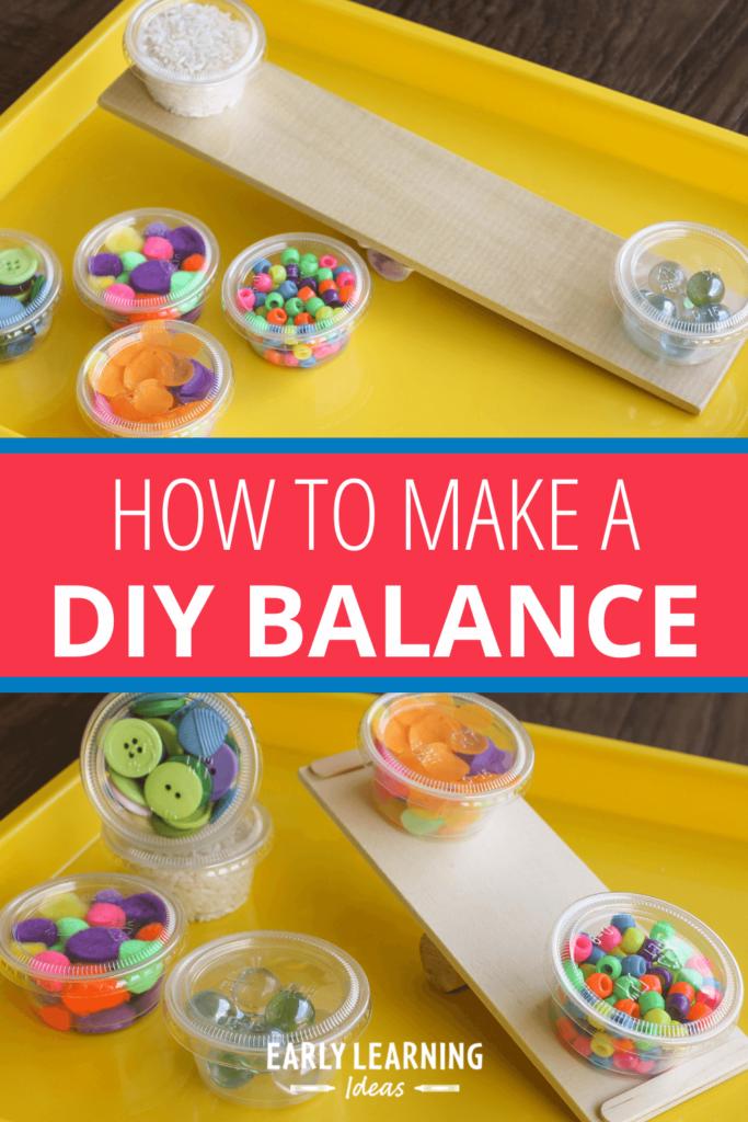 make a DIY balance