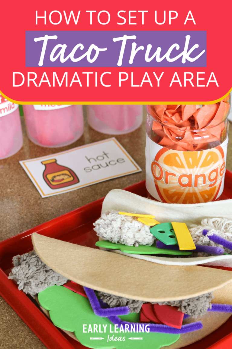 The Secrets of a Taco-riffic Dramatic Play Center