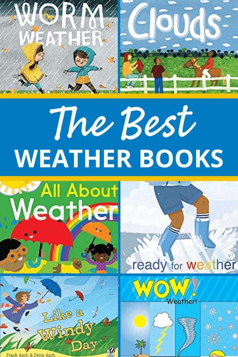 The Best Weather Books for Preschool Kids