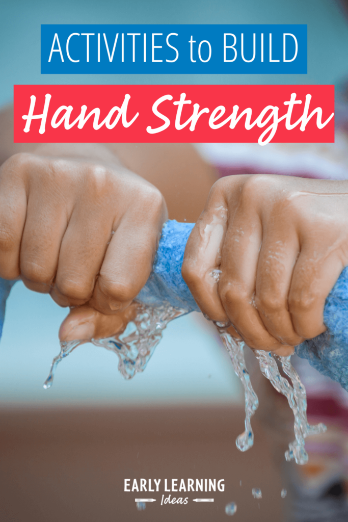 hand strengthening activities for preschoolers