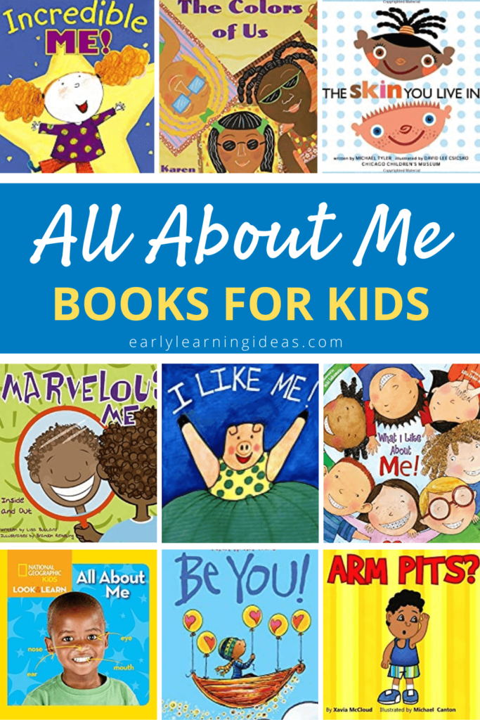 all about me books for kids