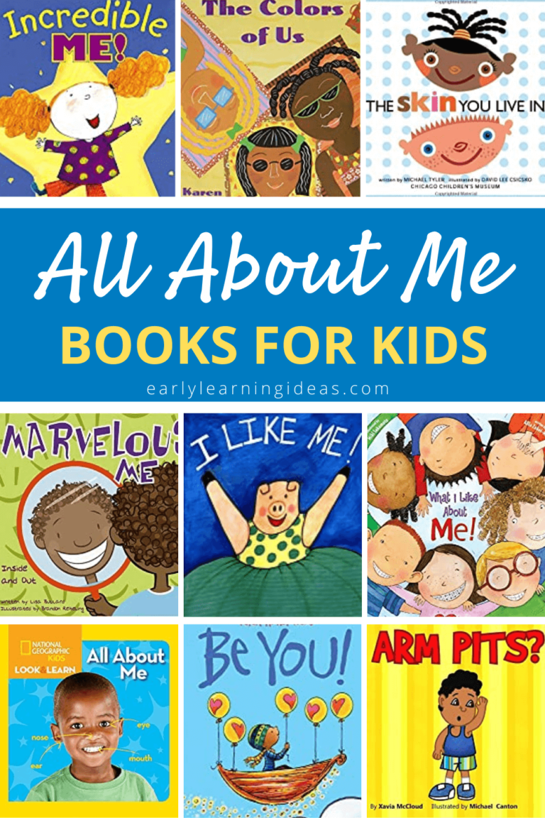 The Best All About Me Books For Preschoolers