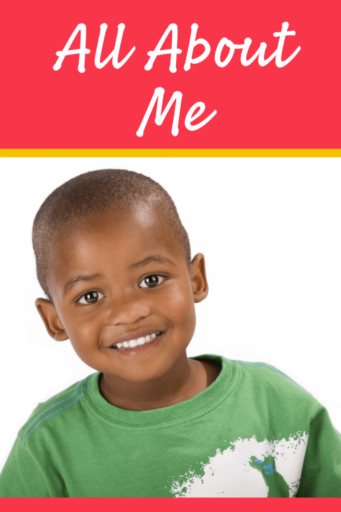 all about me theme for preschool
