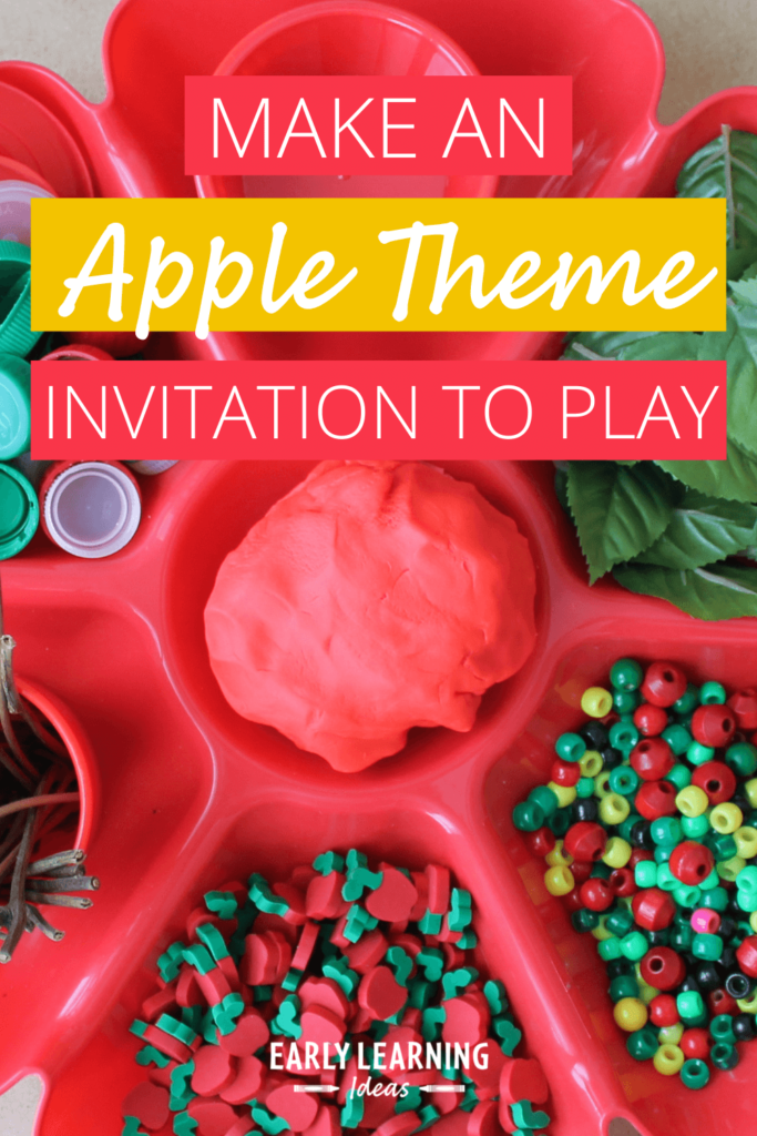 apple activities with an invitation to play