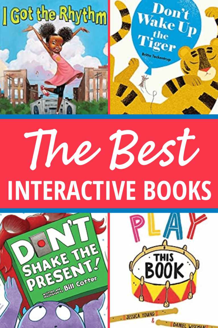 20 of the Best Interactive Books for Kids