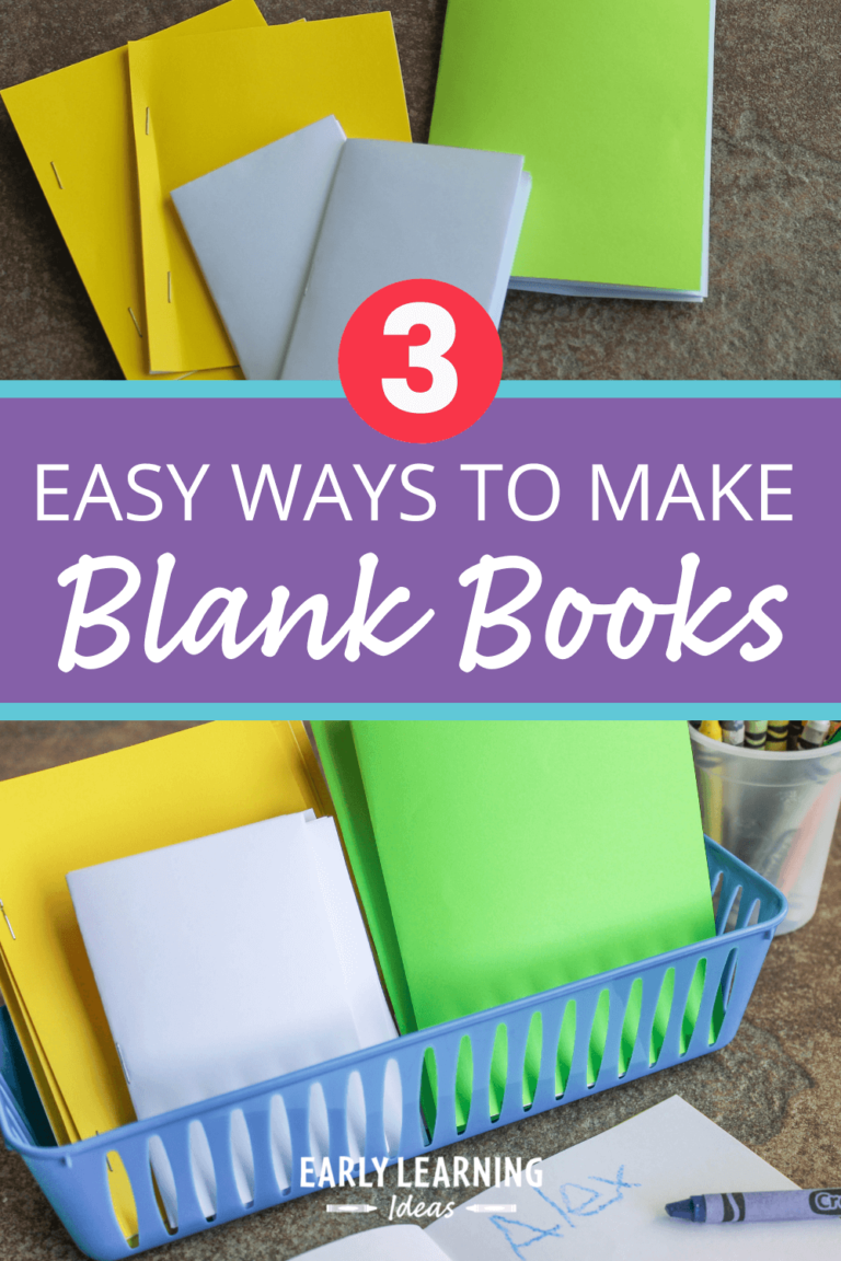Blank Books: 3 Easy-to-Make Books That Will Encourage Writing