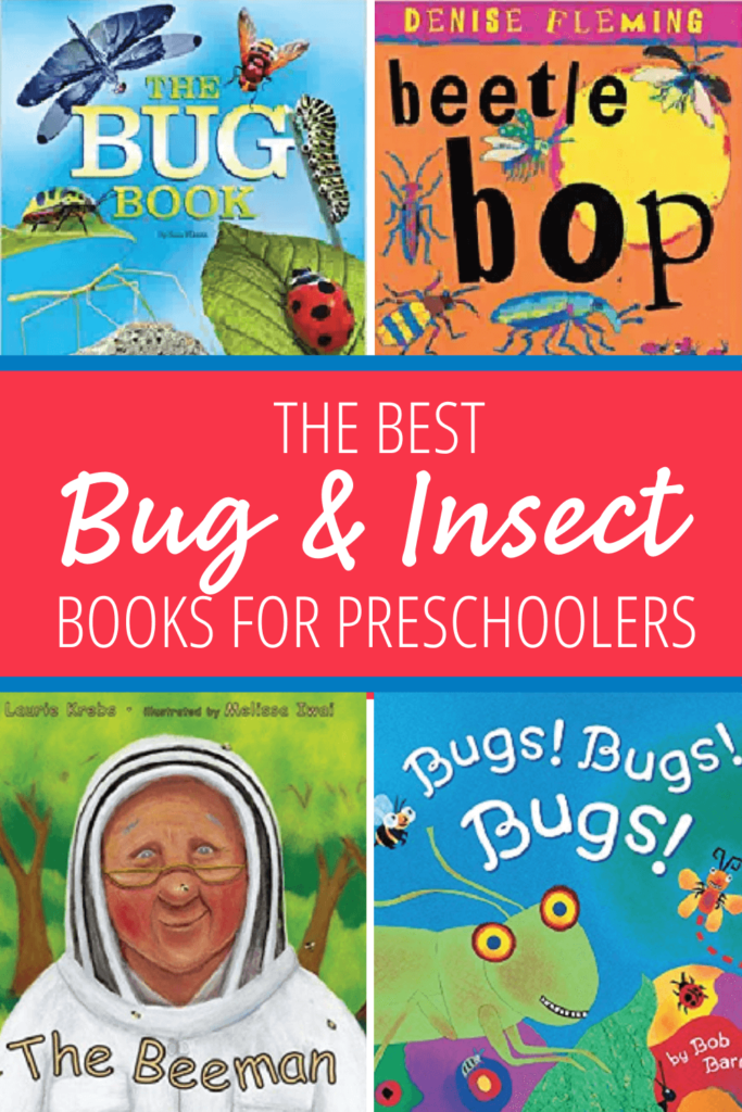 bug and insect books for preschoolers