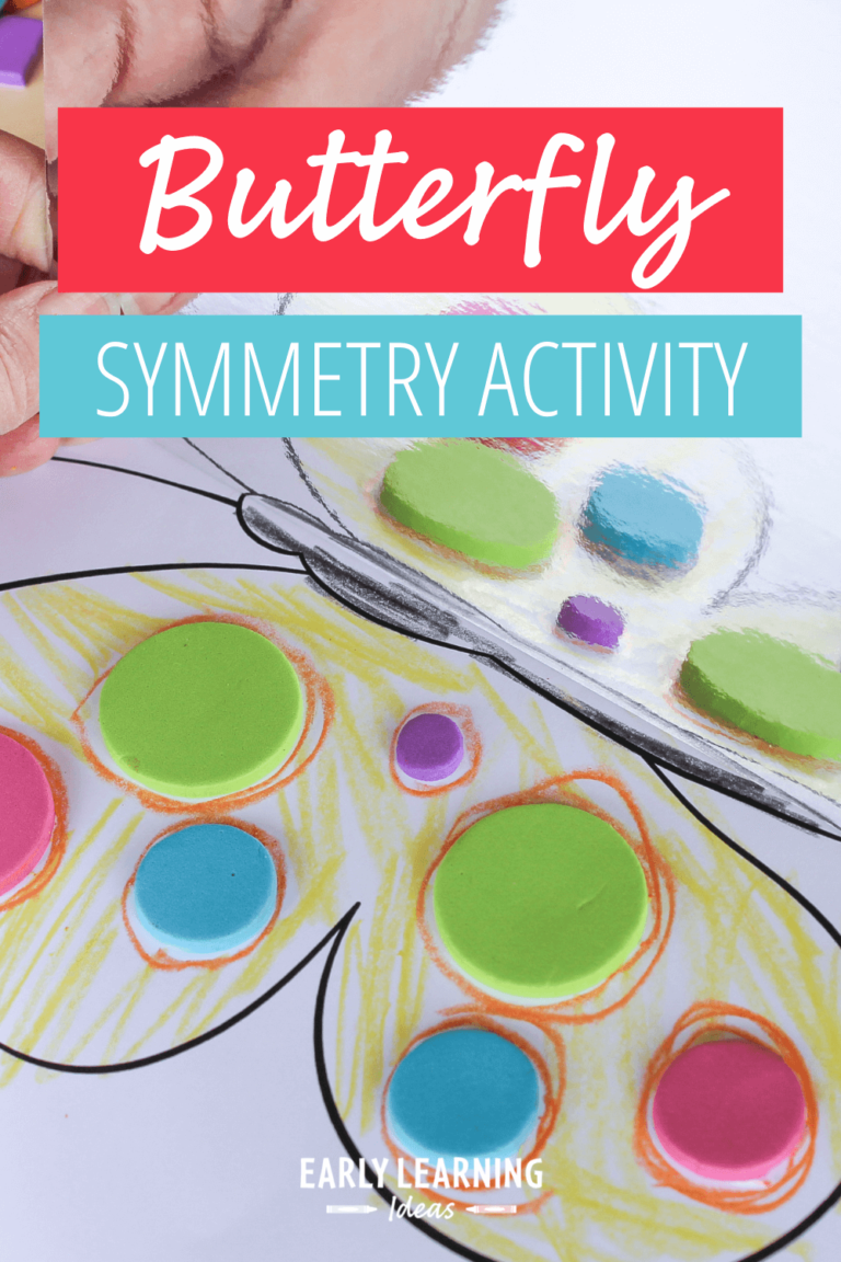 How to Easily Teach Symmetry with This Free Butterfly Printable