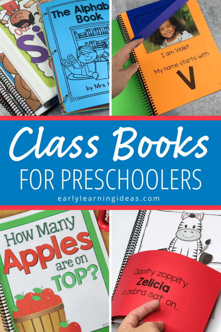 20 Class Book Ideas for Preschoolers