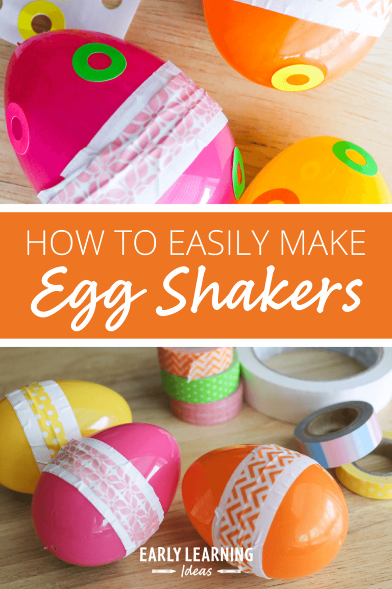 Fun Arts and Crafts for Kids:  How to Make an Egg Shaker