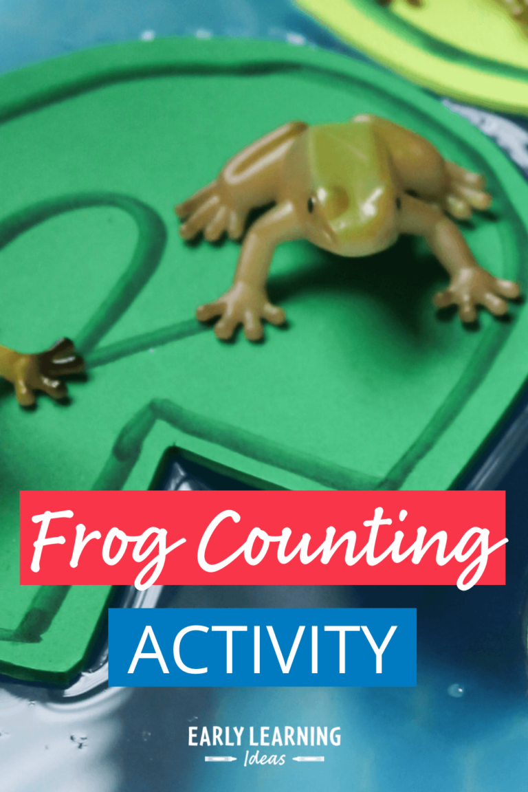Frog Counting Activity