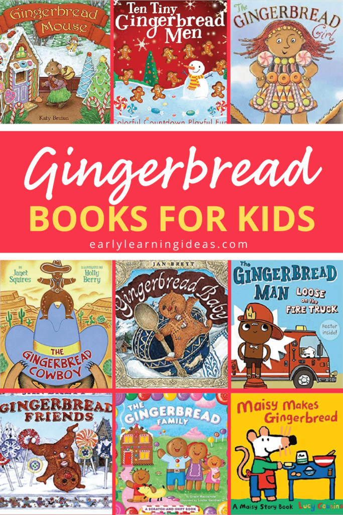 books for gingerbread theme
