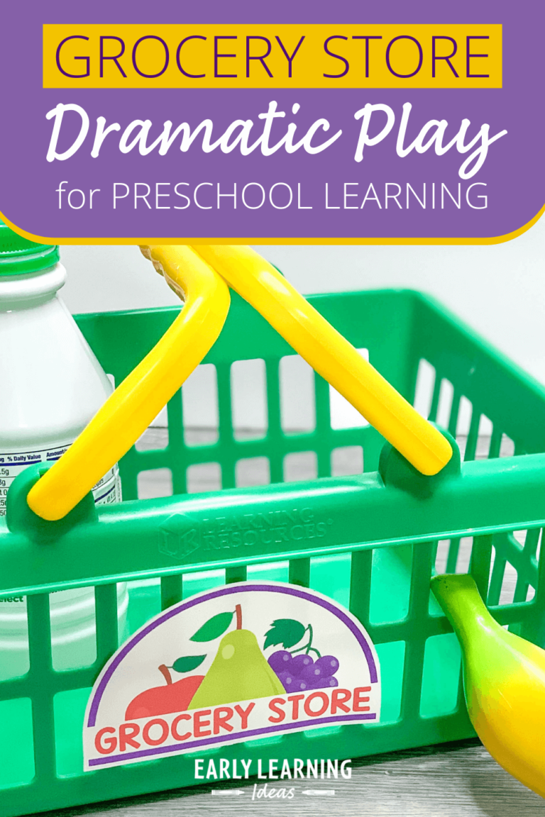 How to Set up a Grocery Store Dramatic Play Area