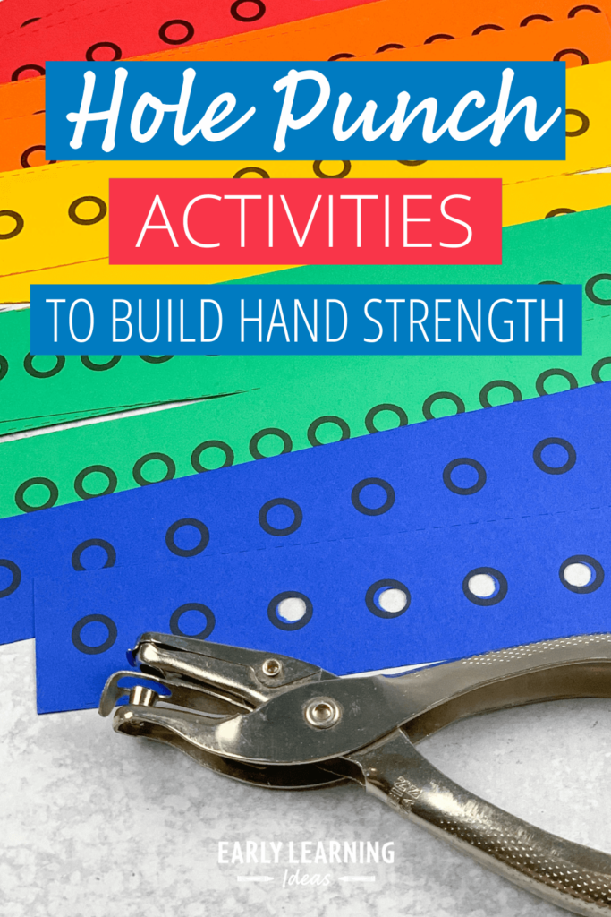 hole punch activities to build hand strength