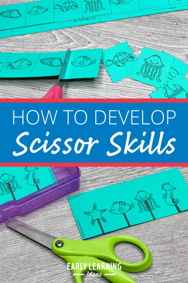 How to Use These Free Printables for Scissor Skills Development