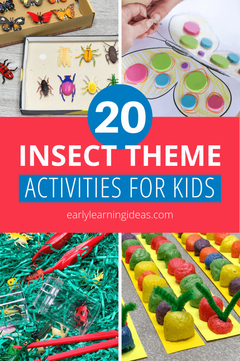 Insect Activities That will Excite Your Kids