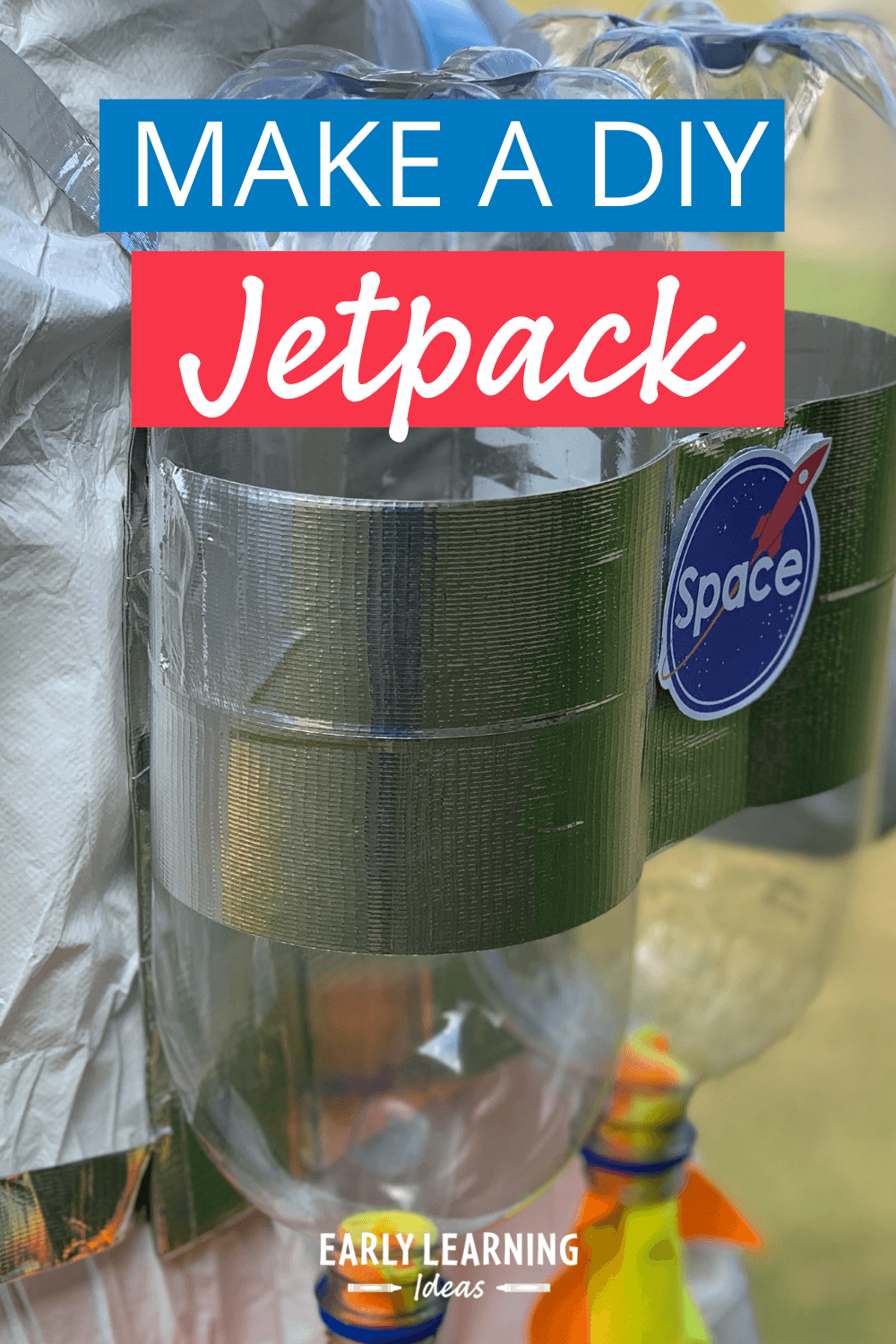 How to Easily Make a DIY Jet Pack for Pretend Play