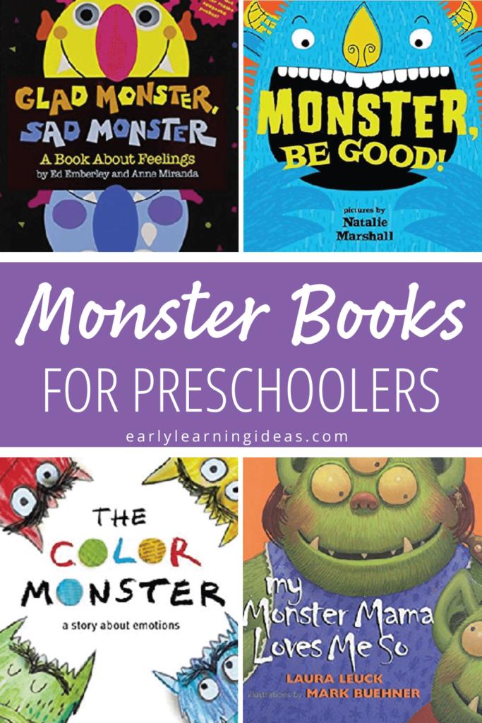 monster books for preschoolers