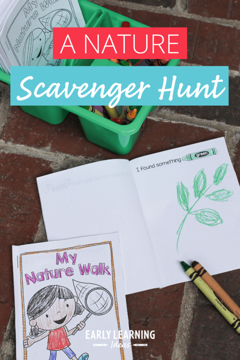 How to Explore Nature with This Free Scavenger Hunt Book