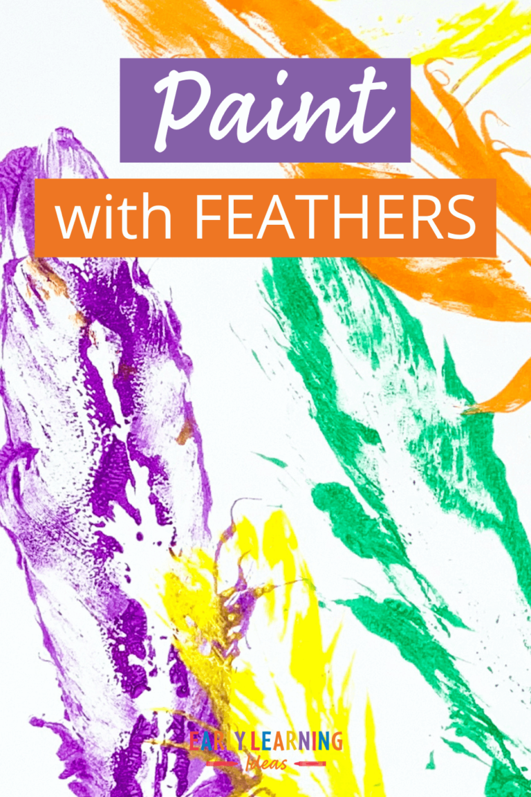 How to Paint with Feathers: 5 Fun & Easy Ideas