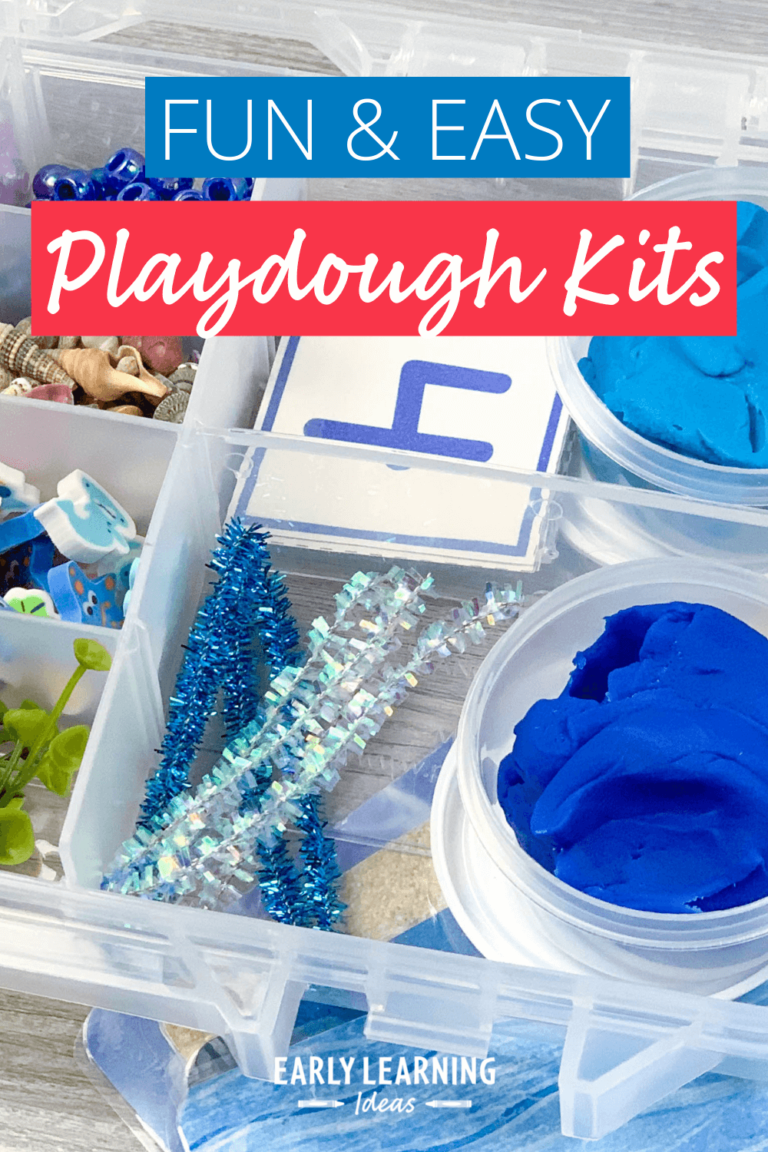 How to Make Easy Individual Playdough Kits for Your Kids
