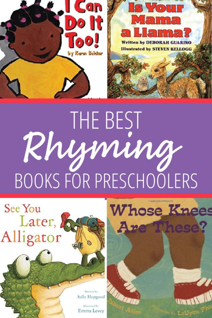 rhyming books for preschoolers