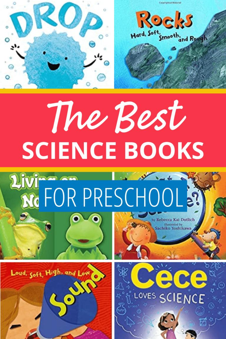 The Best Preschool Science Books