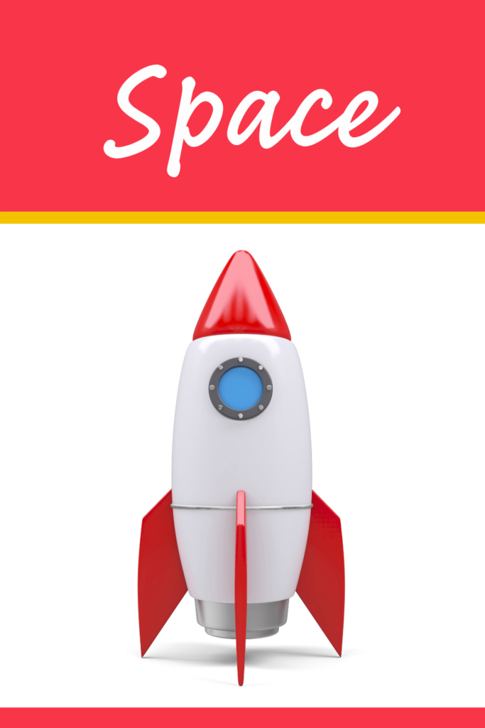 rocket and space theme