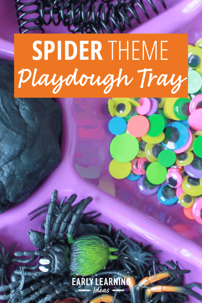 spider playdough activities
