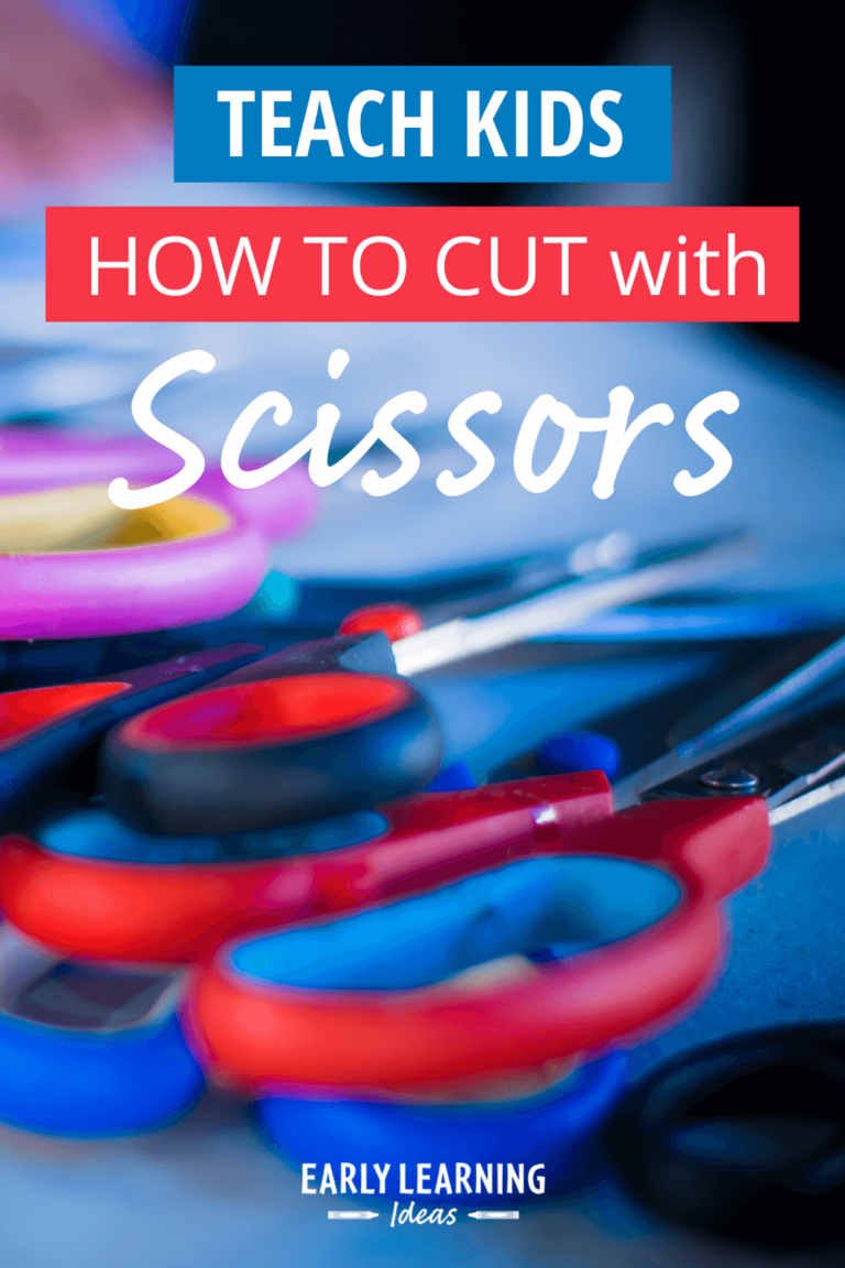 Cutting with Scissors:  The Best Tips for Teaching Kids