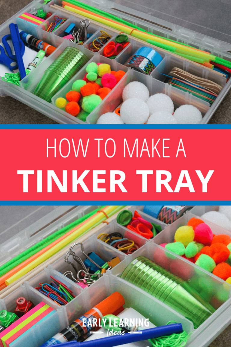 Tinker Tray: An Easy DIY Gift for Kids