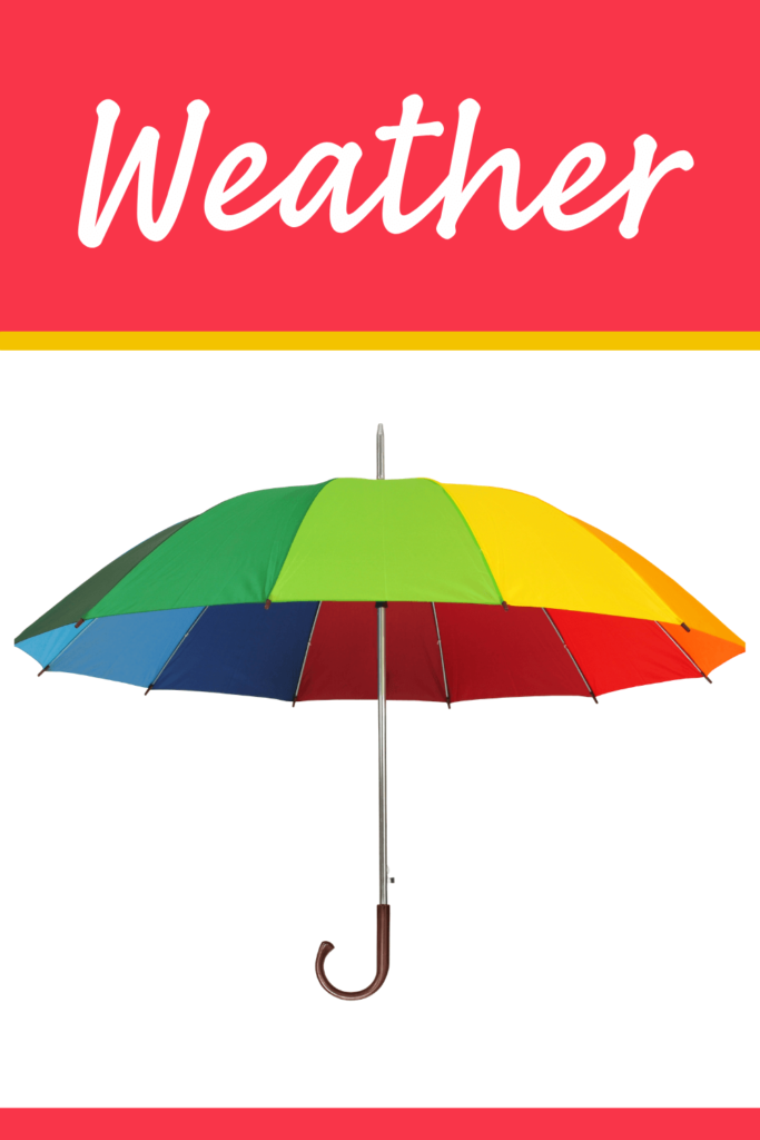 weather theme activities