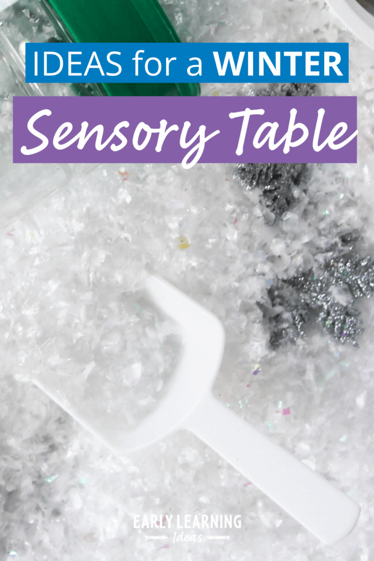 10 Sensory Table Ideas That Will Make You Love Winter