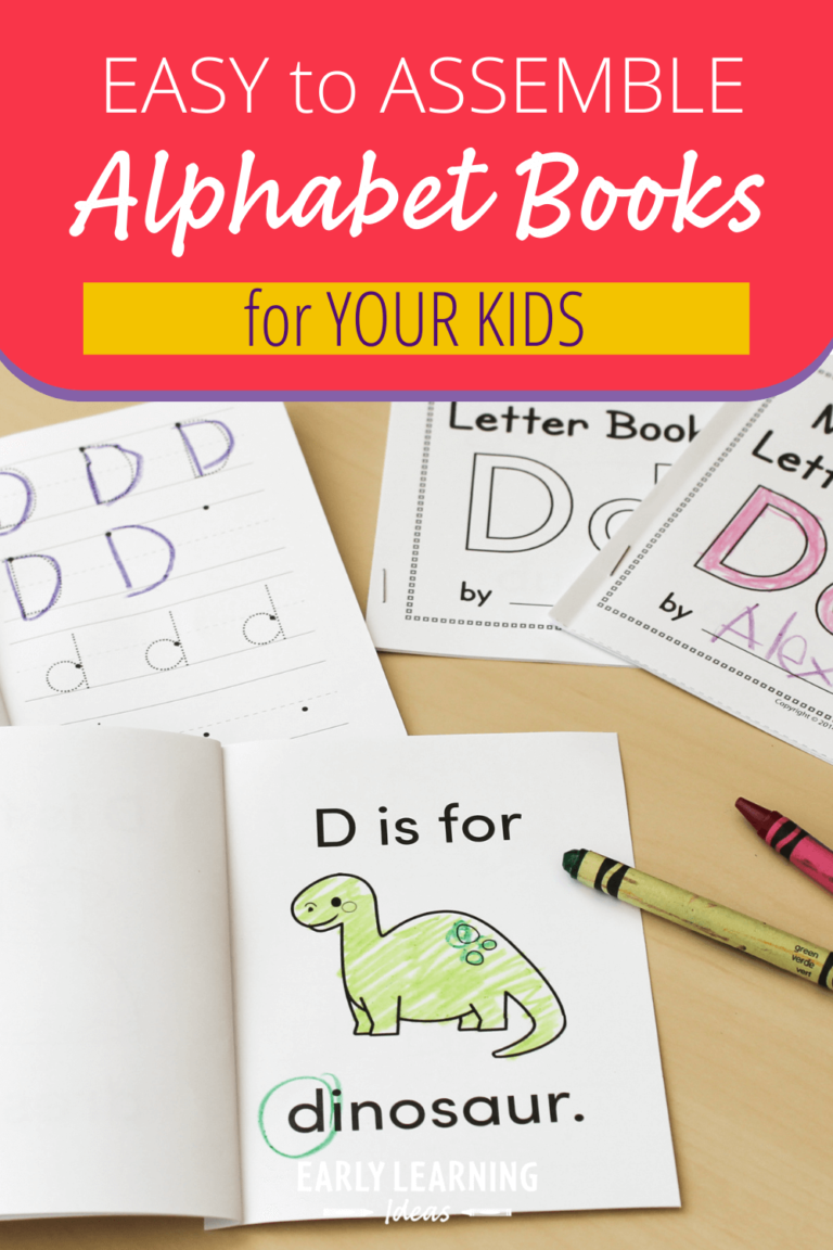 You Need to See How Easily You Can Assemble These Alphabet Letter Books