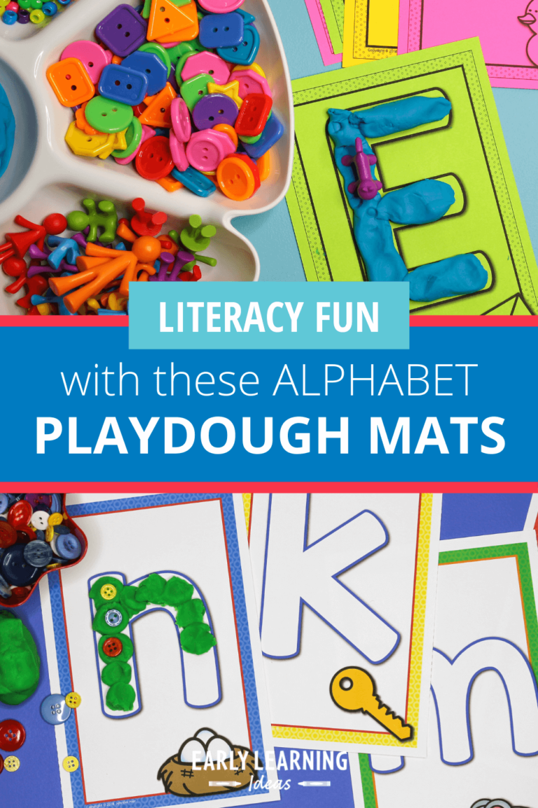 How to Make Learning Fun with Alphabet Playdough Mats