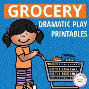 grocery store dramatic play printables