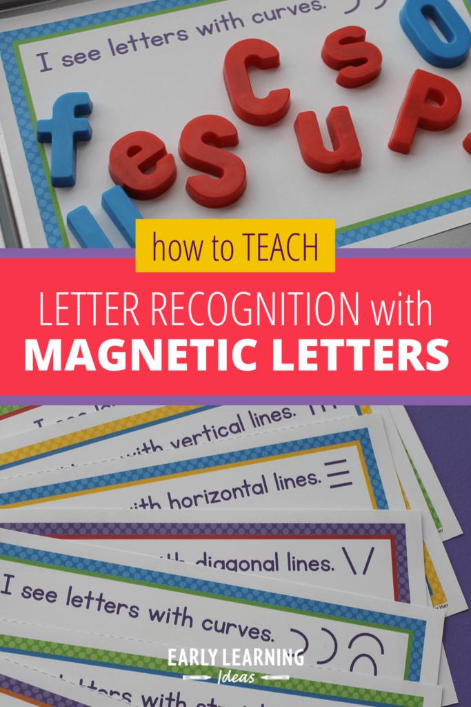 letter sorting mats for magnetic letters