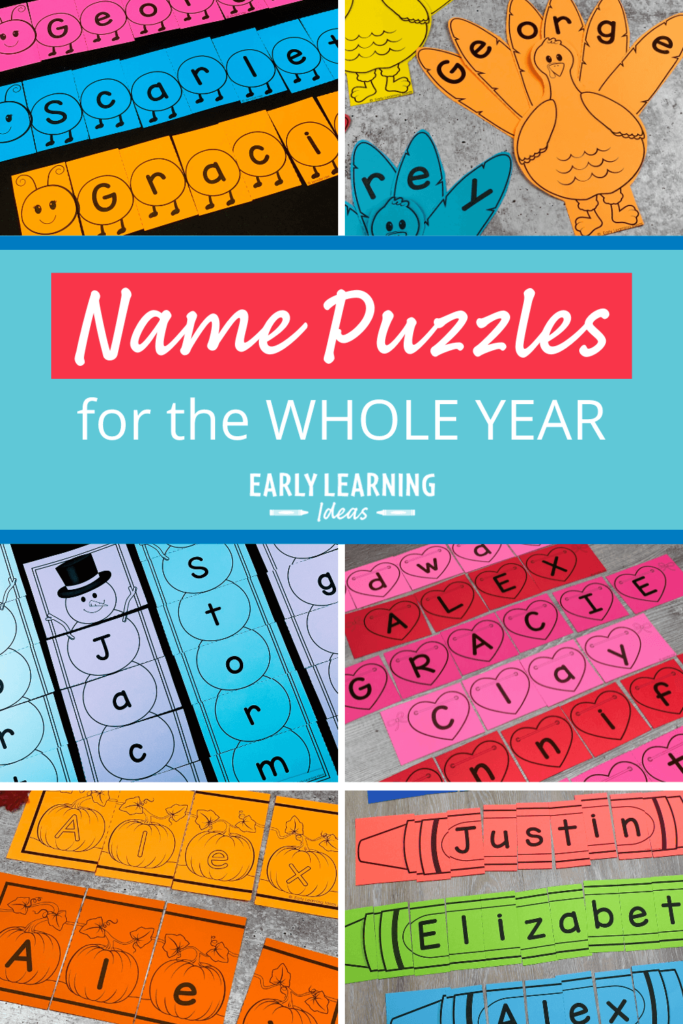 name puzzles for the whole year