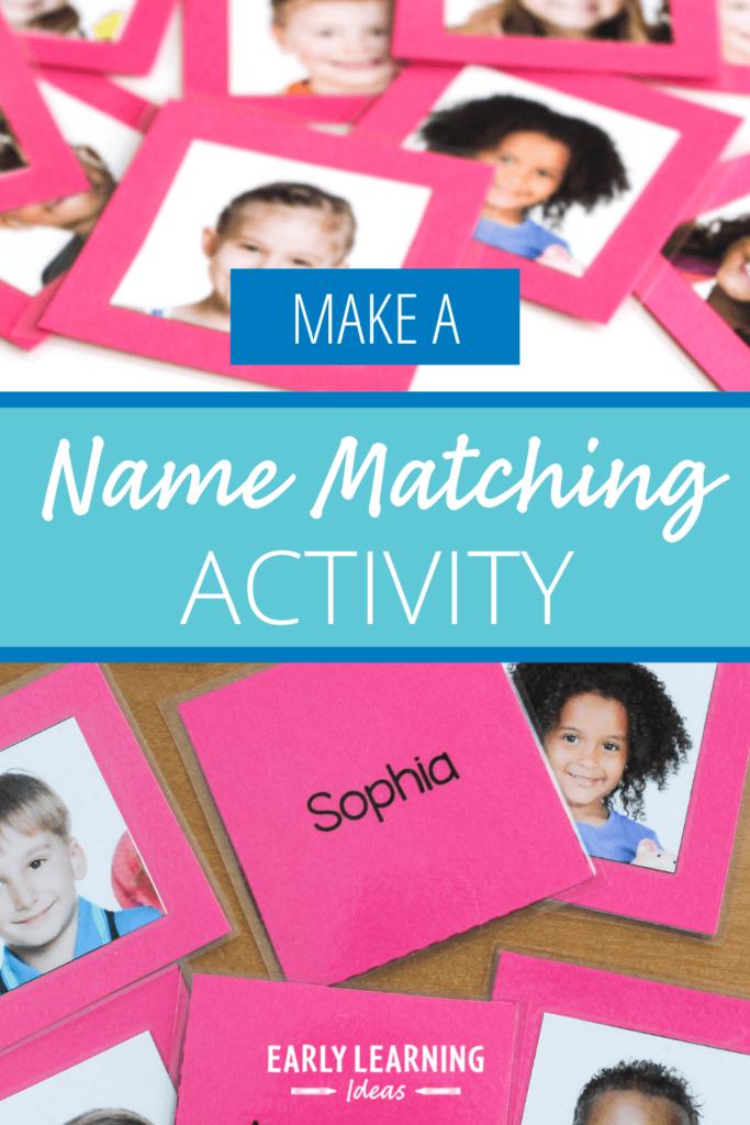 name matching activity