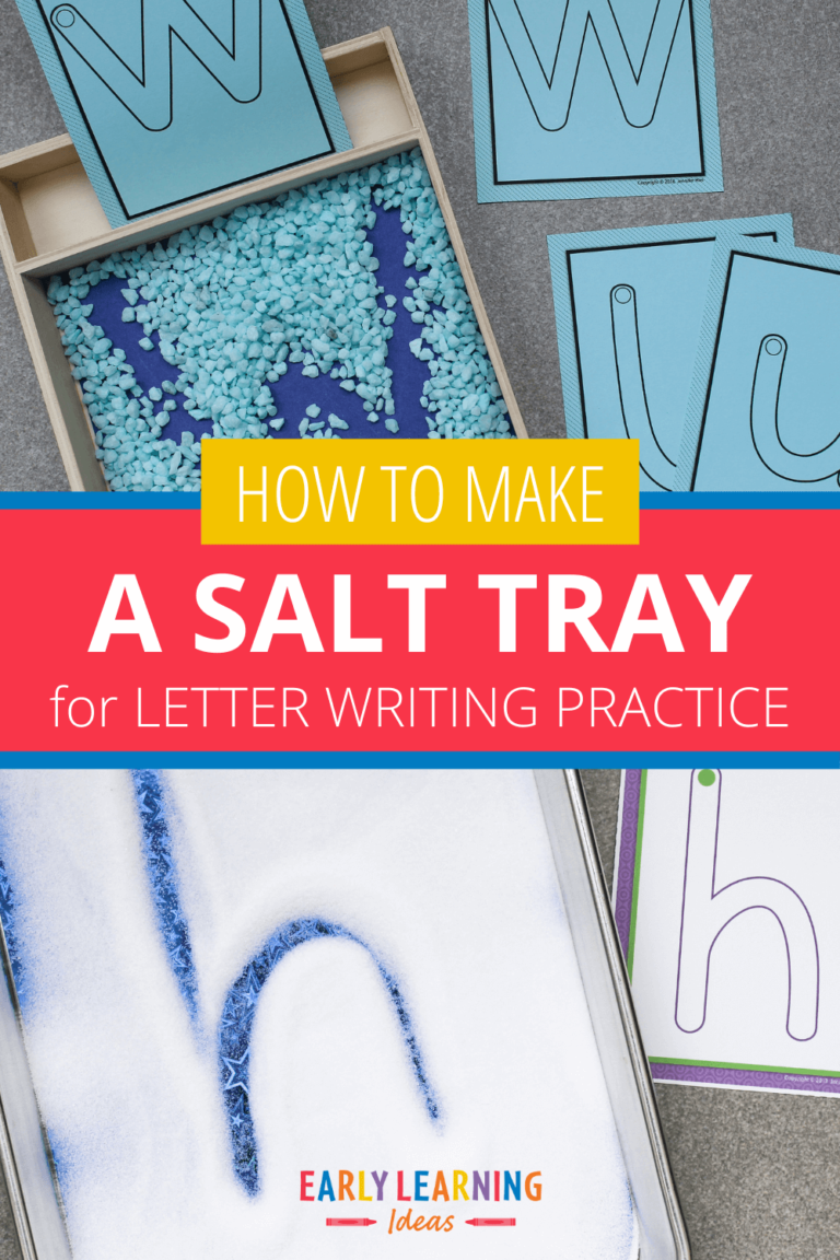 How to Make an Exciting Salt Tray in No Time